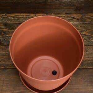 Pot 2L - Terre de Sienne pour plante carnivore